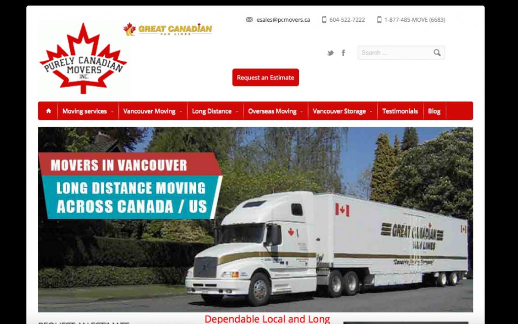 moving company backlink