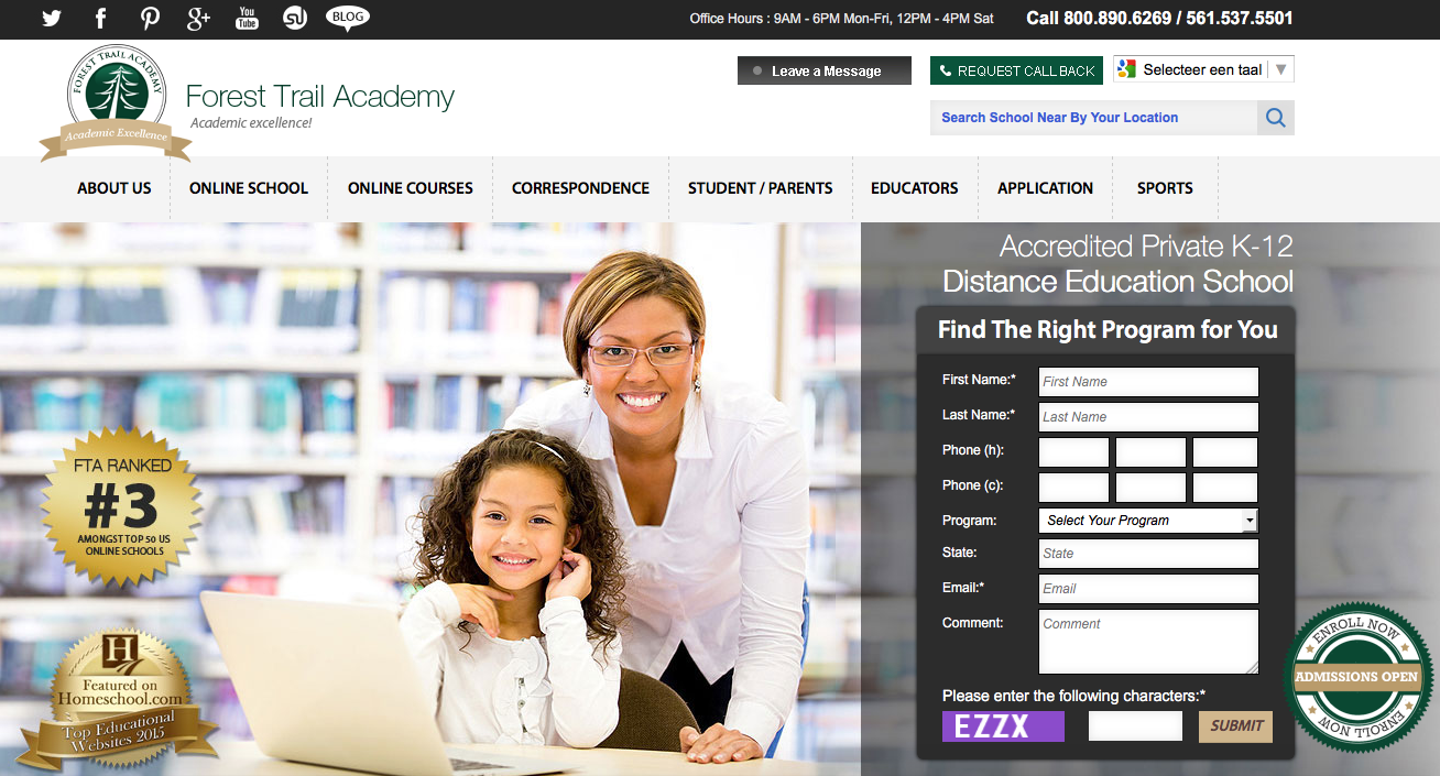 forest trail academy backlink